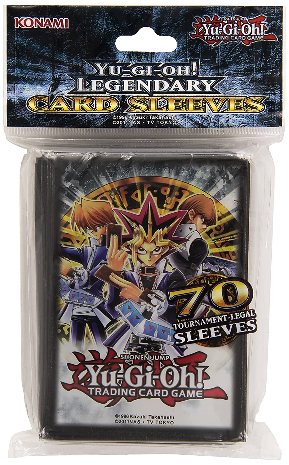 yu gi oh legendary sleeves trading card protection pack set of