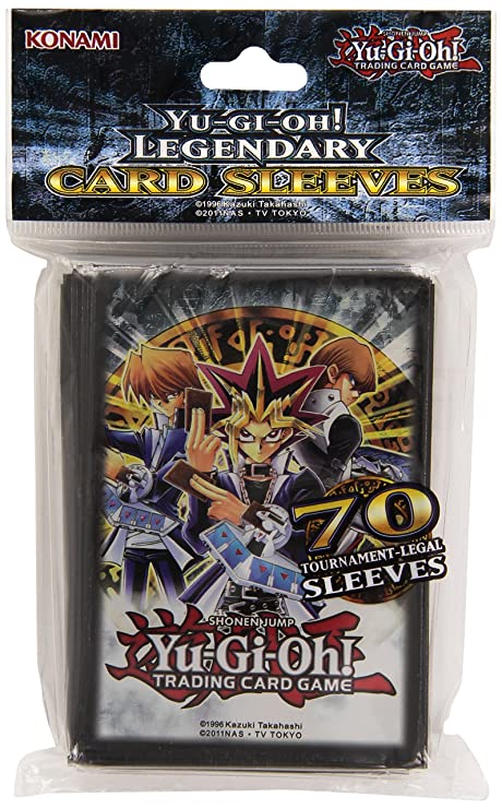 Amazon.com: Yu-Gi-Oh! Legendary Sleeves Trading Card ...