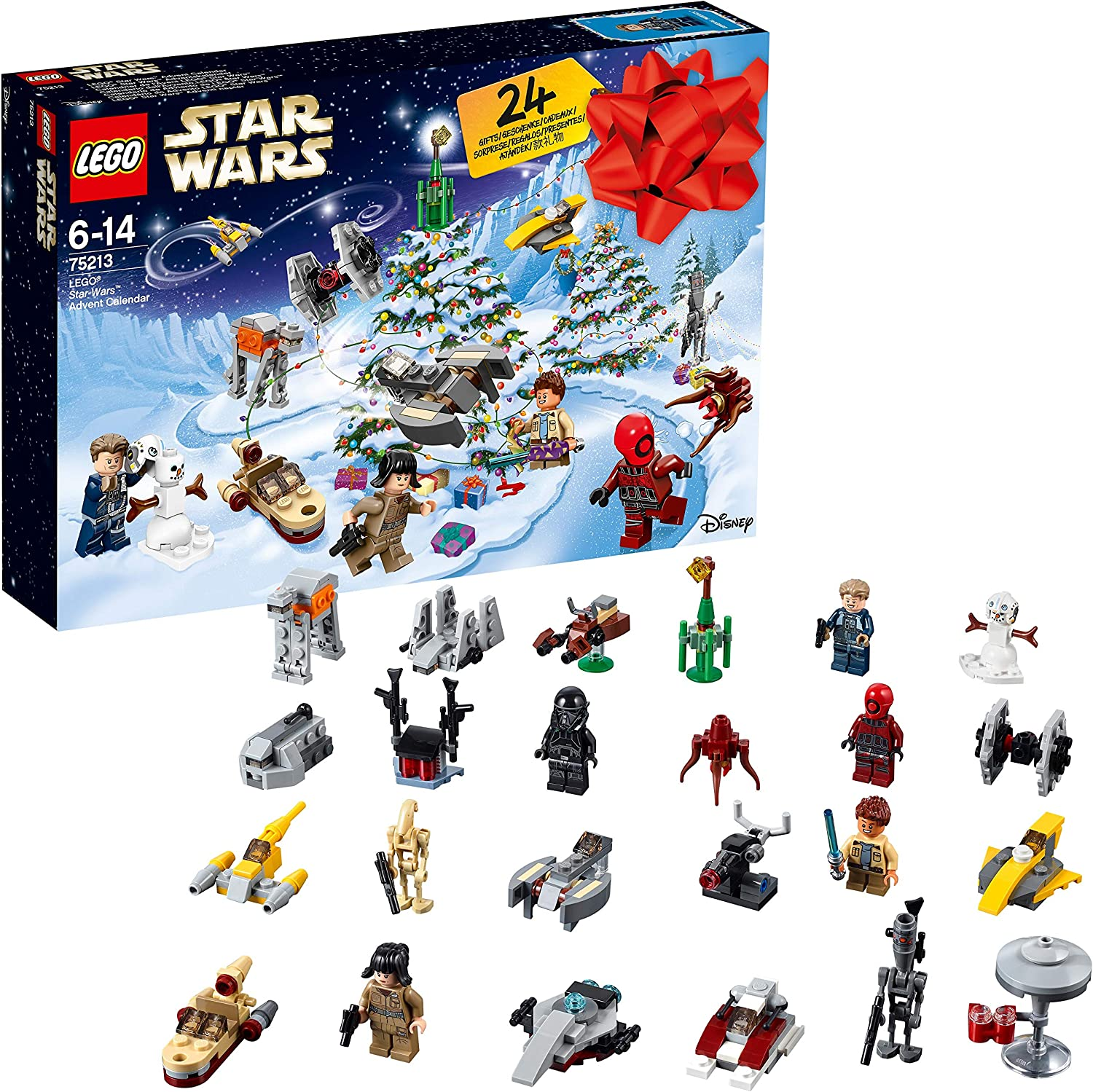 Amazon.com: 75213 LEGO Star Wars Star Wars Advent Calendar: Toys
