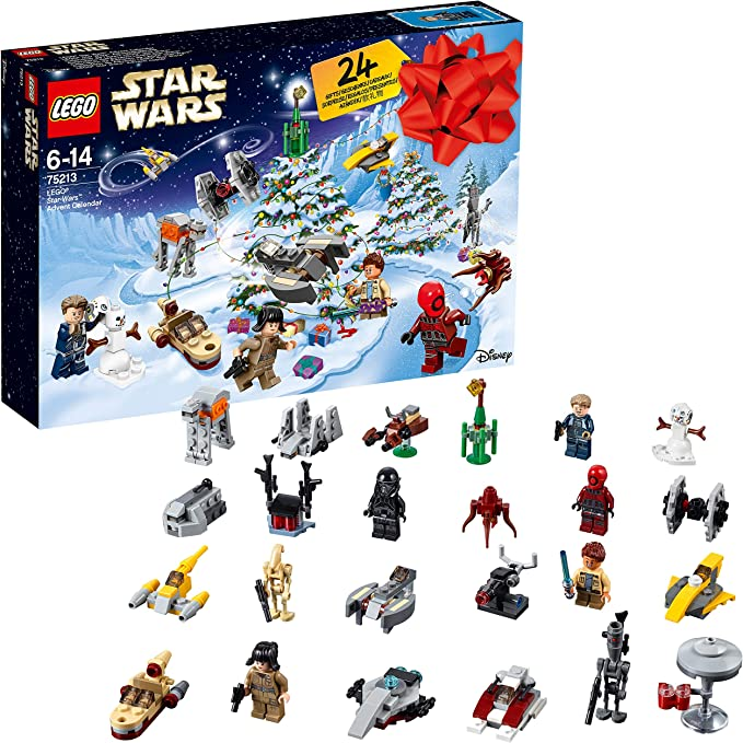 LEGO Star Wars - Calendario de adviento (75213): Amazon.es ...