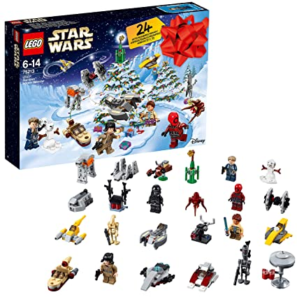 Calendrier Star Wars 2019.Lego Star Wars 2018 Advent Calendar 75213