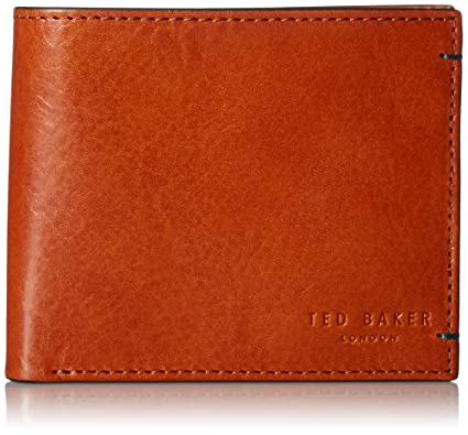 5eb603797f0b Ted Baker Logans Contrast Internals Leathers Bi-Fold Wallet - O S ...