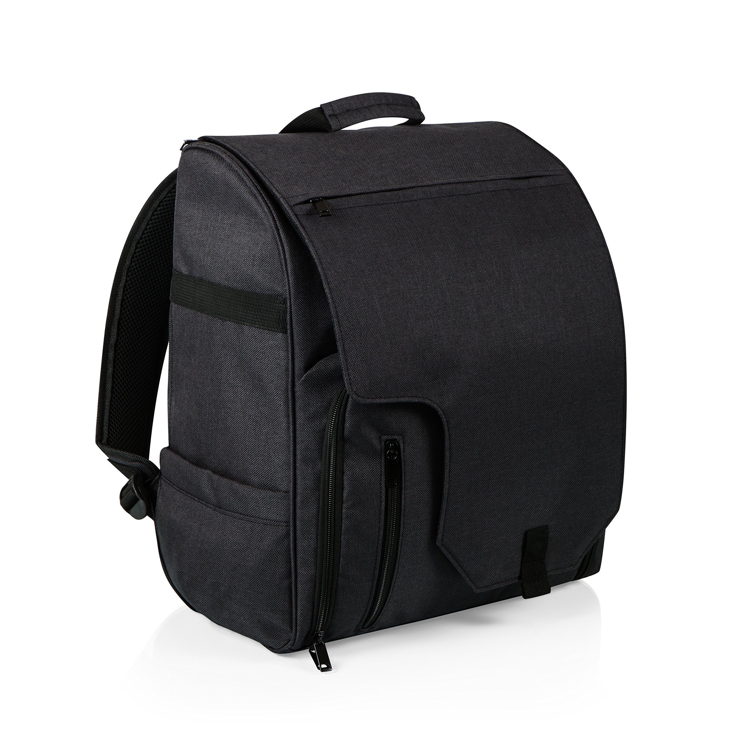 PICNIC TIME ONIVA - a Brand Commuter Insulated Cooler Backpack, Black