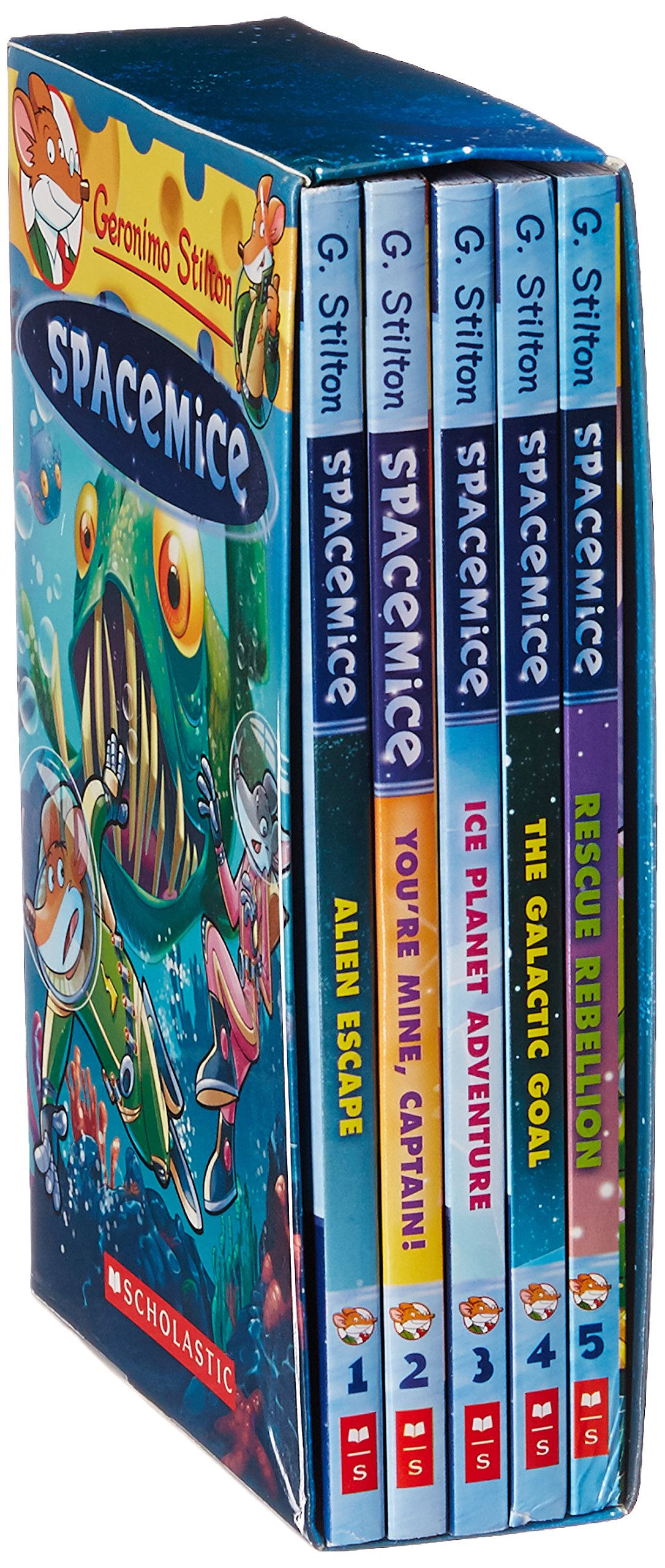 Geronimo Stilton -Spacemice Slip-Case Set pdf epub