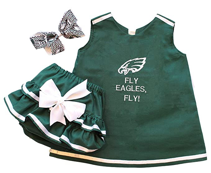 the best attitude e995f b91a2 Amazon.com: Baby and Toddler Girls' Philadelphia Eagles ...