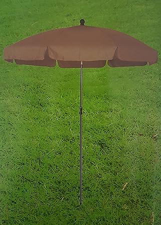 Amazon De Meinposten Sonnenschirm 180 Cm Strandschirm Gartenschirm