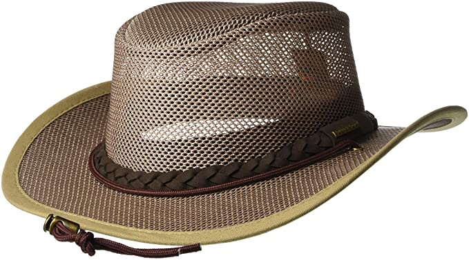 3cd2dc9502afa4 Stetson Men's Mesh Safari Hat at Amazon Men's Clothing store: