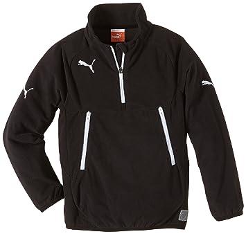 Puma Sweatshirt Training Fleece - Sudadera de fútbol para niña, color negro/blanco, talla 12 años (152 cm): Amazon.es: Deportes y aire libre