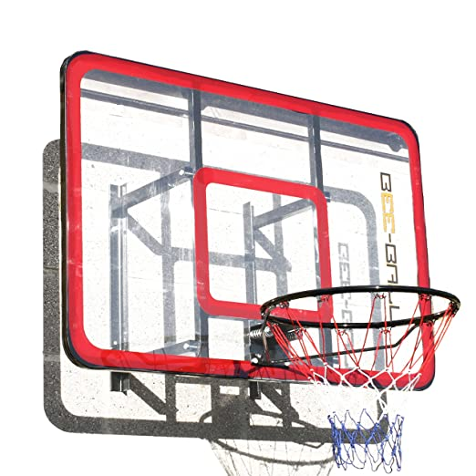 2 opinioni per BEE-BALL ZY-022-Canestro da Basket NBA, con rinforzo in Perspex & Flex