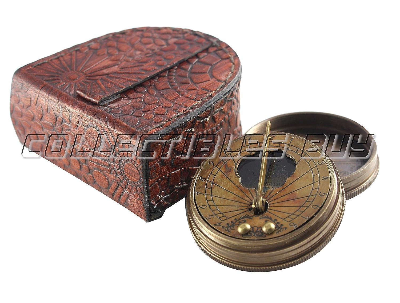 ヴィンテージデザイン磁気ナビゲータInstrumentアンティーク真鍮コンパス装飾クリスマス&ハロウィンギフトコレクション   B076DBTZ8D