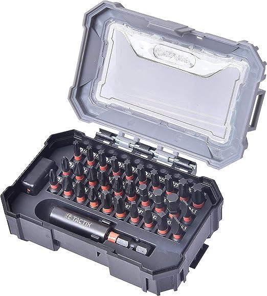 Tactix 455831P - Juego de puntas para destornillador de impacto ...