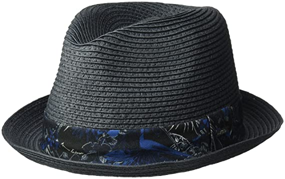 2d0781b7854 Amazon.com  Armani Exchange Men s Tropical Palms Trim Fedora
