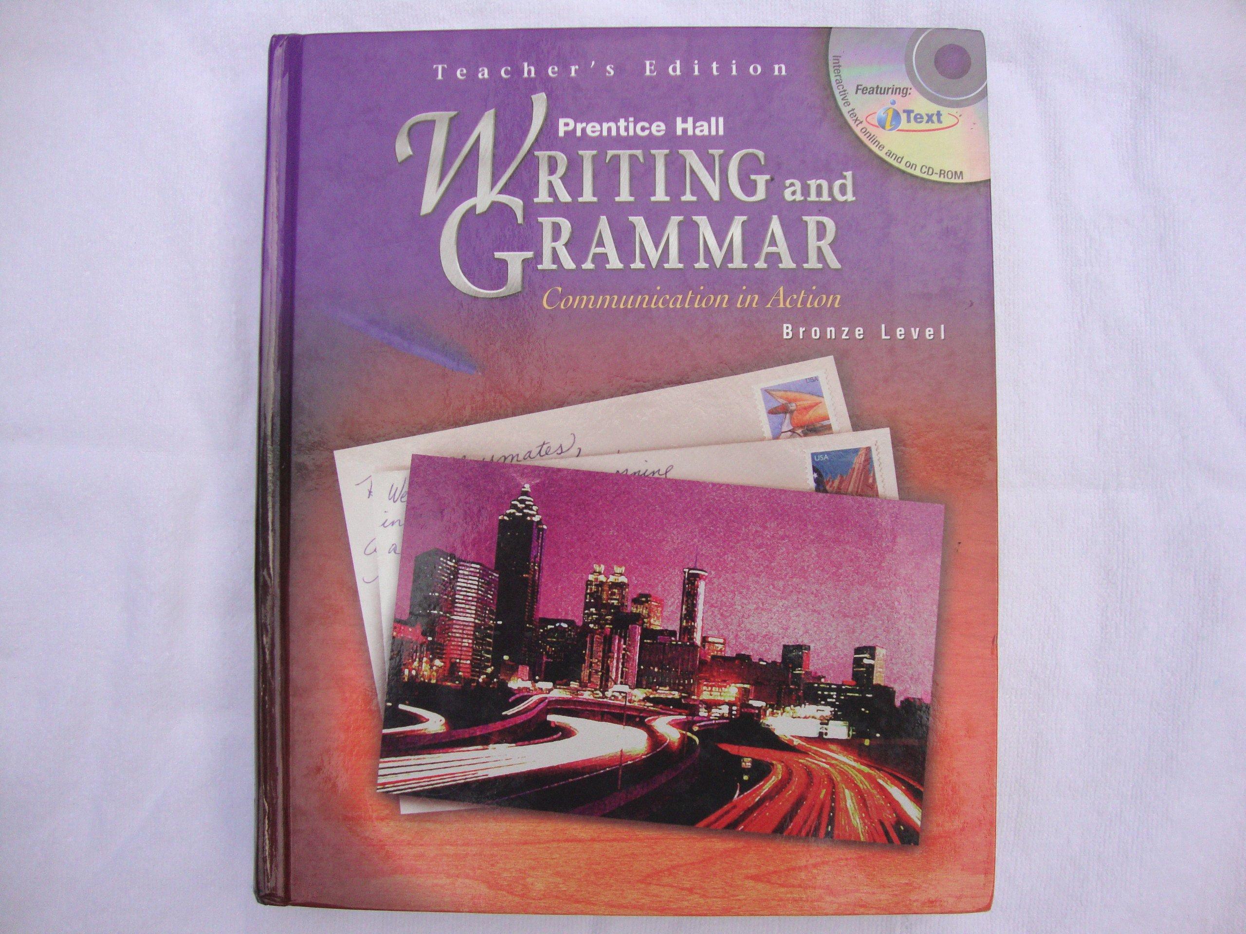 Prentice Hall Writing and Grammar Communication in Action (Teacher's Edition,  Bronze Level Grade 7): Carroll: 9780130374974: Amazon.com: Books