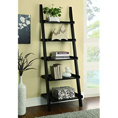 Coaster Home Furnishings Colella 5-shelf Ladder Bookcase Cappuccino