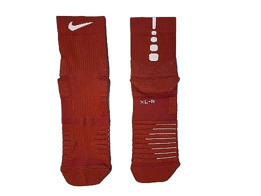Nike Men`s Elite Cushioned High Quarter Basketball Socks 1 Pair ...
