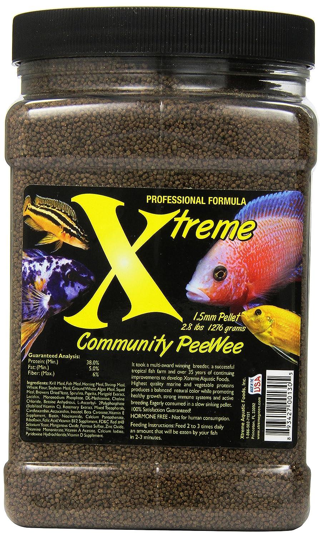 Xtreme Aquatic Alimenti 2130-f comunità Peewee Peewee Peewee Fish Food 56b817