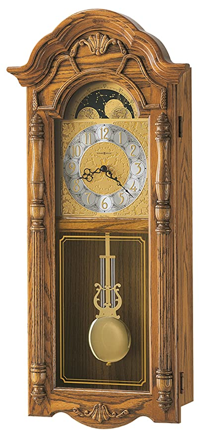Amazon Com Howard Miller 620 184 Rothwell Wall Clock Home Kitchen