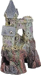 "Penn-Plax RRW6 Wizards Castle Small 5.5""H Aquarium Decorative Resin Ornament"