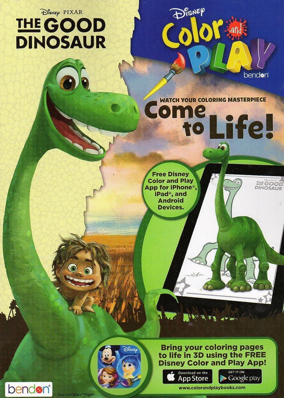 Amazon.com: Disney Pixar - The Good Dinosaur - Coloring & Activity ...