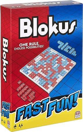 Mattel Games Fast Fun Blokus, Juegos de Mesa para niños +7 años (Mattel FMW25): Amazon.es: Juguetes y juegos