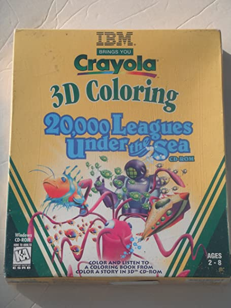 Crayola Magic 3-D Coloring 20,000 Leagues Under Ages 2-8: Amazon.in ...