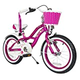bike*star 40.6cm (16 pulgada) Bicicleta para niños - Cruiser - Lila