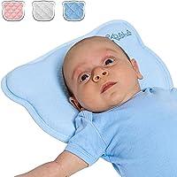 Almohada para Bebe para plagiocefalia desenfundable (con dos