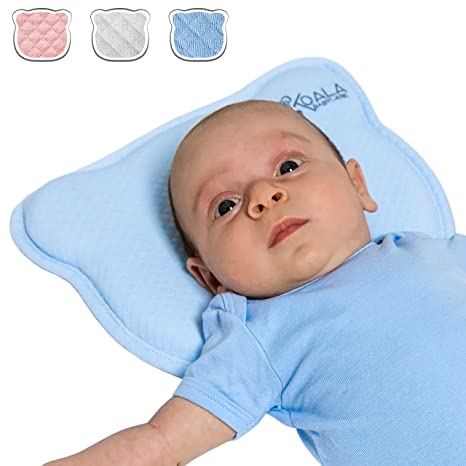 Amazon.com : Baby Pillow with Two Removable Covers in Memory ...