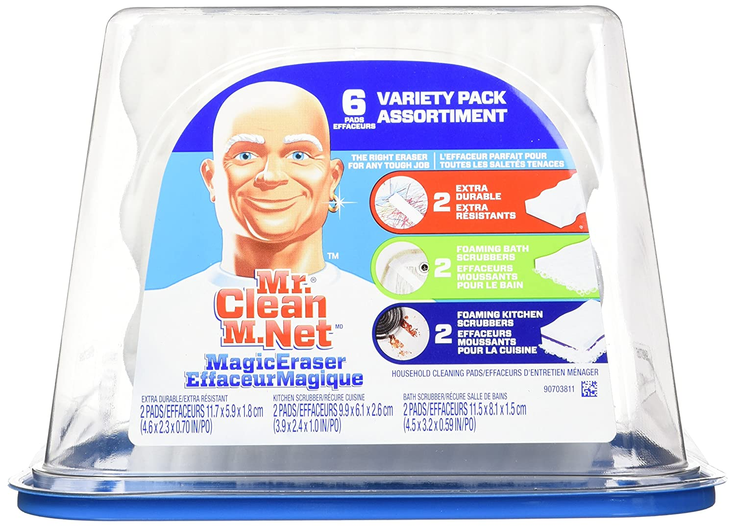 Mr. Clean Magic Eraser Variety Tub, 6 Count PG-4621