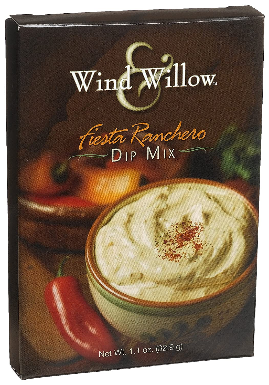 Wind & Willow Fiesta Ranchero Dip, 1.1-Ounce Boxes (Pack of 6)