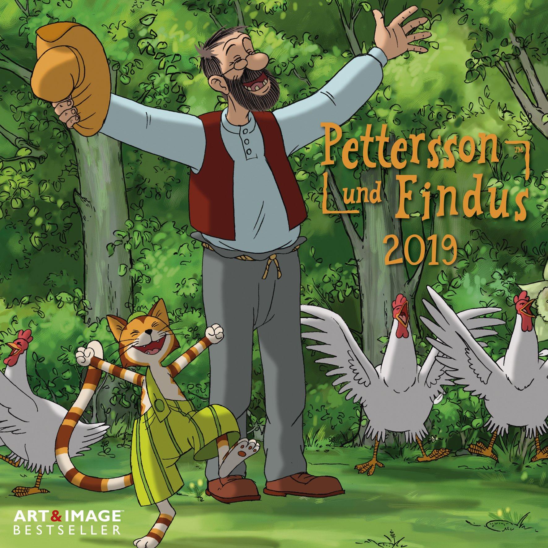 Pettersson & Findus 2019 - Kinderkalender, Kalender für Kinder - 30 x 30 cm Kalender – Posterkalender, 1. Mai 2018 B077Z81QXY empfohlenes Alter: ab 3 Jahre Antiquitäten / Spielzeug Puppen