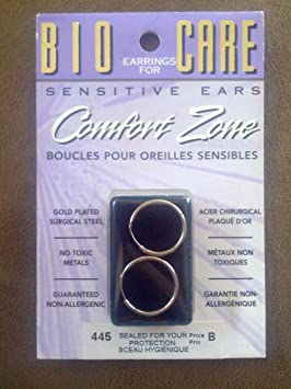 de556f277 BioCare Earings for Sensitive ears with Comfort Zone: Amazon.ca: Beauty