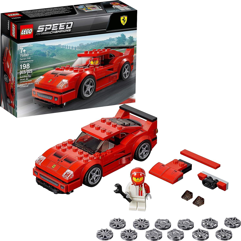 乐高速度冠军法拉利F40竞赛建筑套件