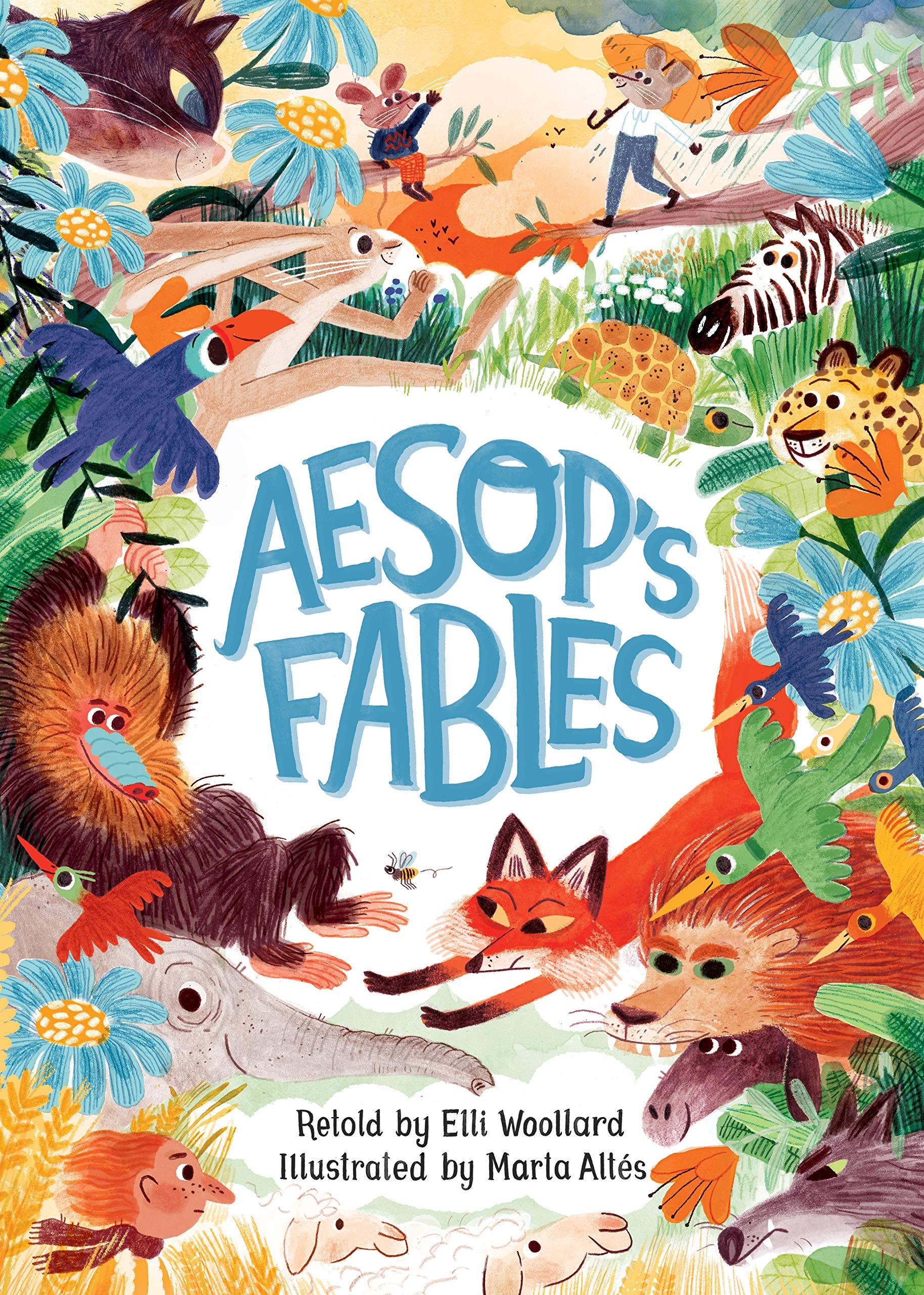 Aesop's Fables Retold By Elli Woollard