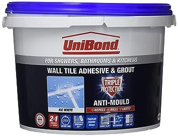 Unibond 1l di malta liquida per piastrelle tripla protezione anti