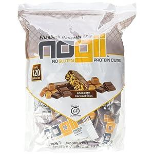 NoGii Protein D'Lites Nutritional Bar, Chocolate Caramel Bliss, 1 Oz Bars