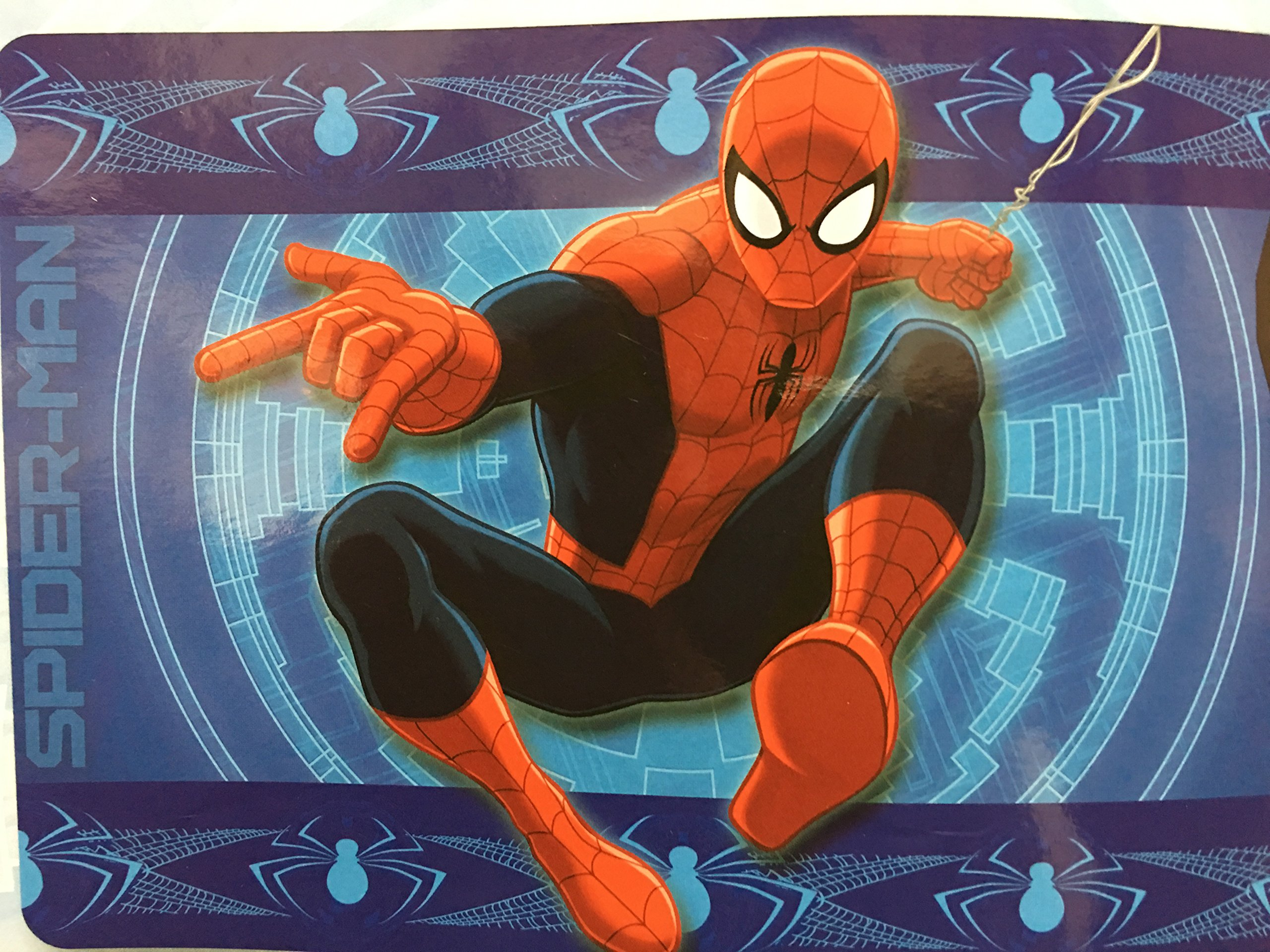 Disney All New Marvel 54'' x 80'' Super Soft Area Rug with Non Slip Backing (Spider-Man)