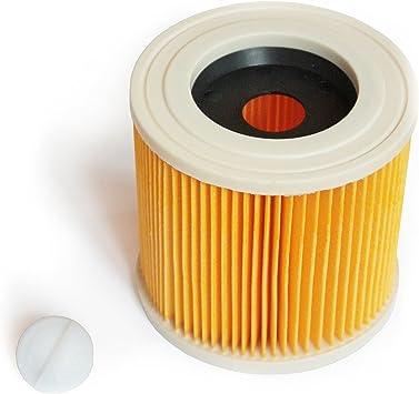MI:KA:FI Filtro de cartucho | para Kärcher Aspiradora en seco y húmedo | WD2 + WD3 + WD2.200 + WD3.200 + WD3.300 M + WD3.500 P + SE 4001 + SE 4002 | como 6.414-552.0: Amazon.es: Bricolaje y herramientas