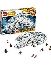 LEGO Star Wars Halcón Milenario del corredor de Kessel Set de construcción de la clásica nave de La Guerra de las Galaxias, incluye minifigura de Han Solo y Chewbacca (75212)