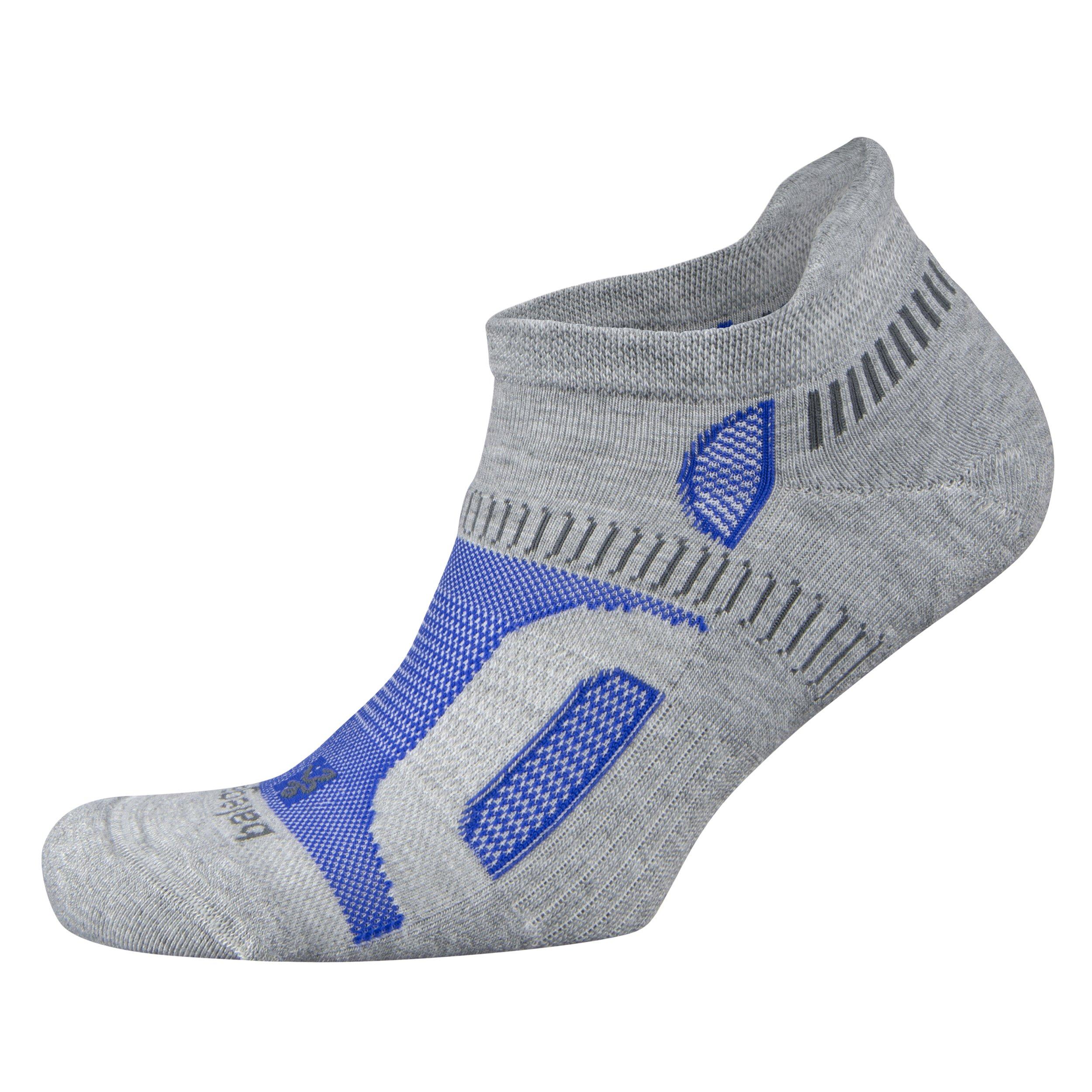 Balega Hidden Contour Socks, Light Grey, X-Large