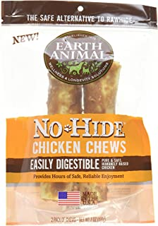 product image for Earth Animal No-Hide Wholesome Dog Chews - Medium (Chicken, Medium (2 per bag))