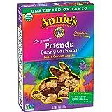 Annie's Friends Bunny Grahams, Honey/Chocolate/Chocolate Chip, Graham Snacks, 7 oz Box (Pack of 6)