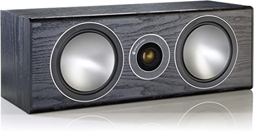 Monitor Audio Bronze Series Center 2 Way Speaker – Black Oak