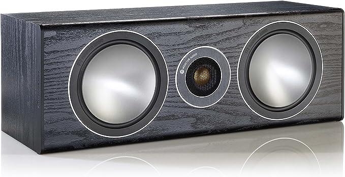 Monitor Audio Bronze Centerlautsprecher Farbe Black Oak 1 Stück Audio Hifi