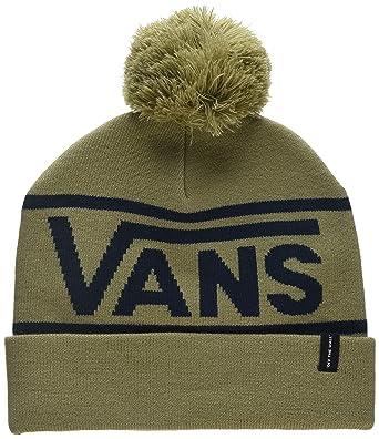 075e3aff Vans_Apparel Men's Drop V Beanie, Beige (Khaki-Dress Blues Kf4), One Size:  Amazon.co.uk: Clothing