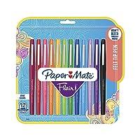 Paper Mate Flair Felt Tip Pens, Medium Point (0.7mm)