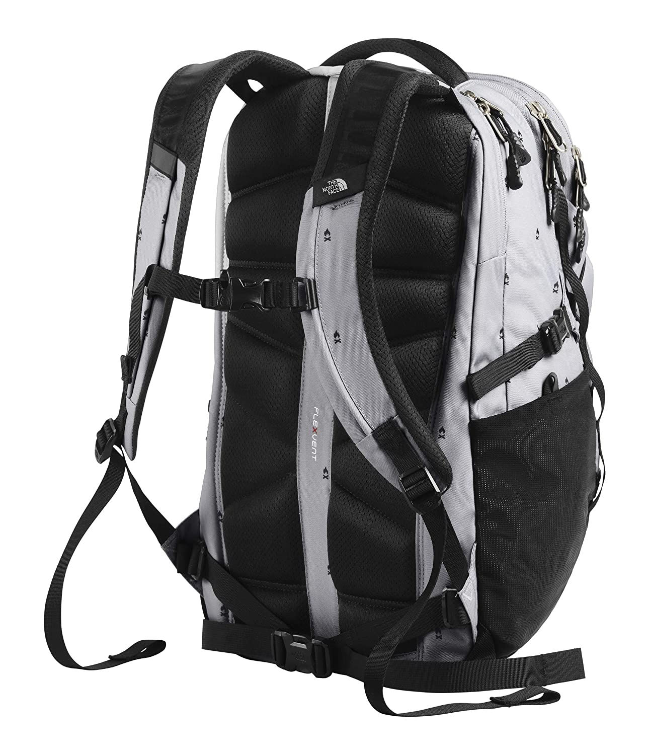 The North Face Borealis Backpack Trickonometry Print//Radiant Yellow One Size T0CHK4LMN OS