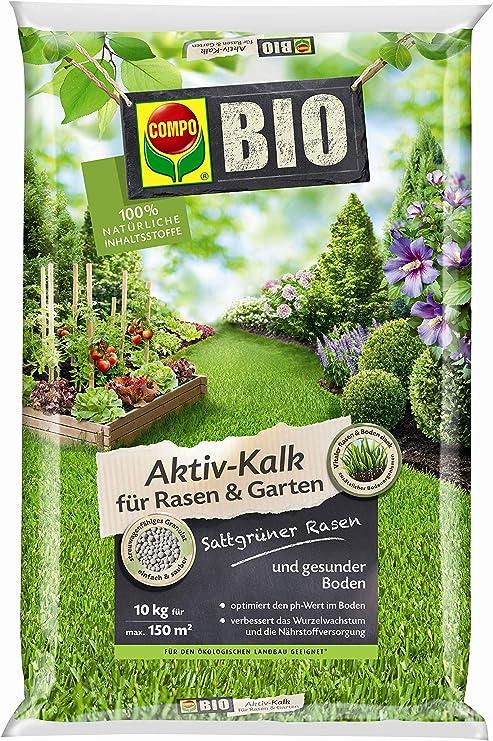 Compo bio activo de cal para césped y jardines: Amazon.es: Jardín