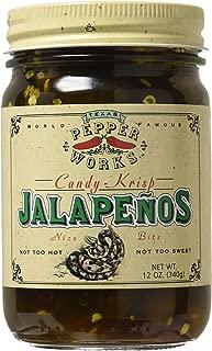 product image for Texas Pepper Works, Candy Krisp Jalapenos, 12 oz