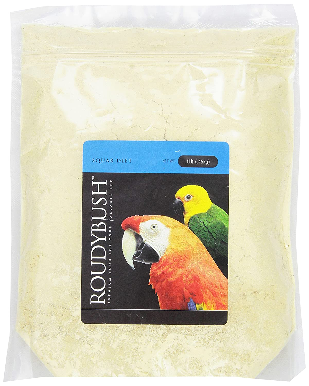 RoudyBush Squab Diet for Birds, 1-Pound Inc. 201SD